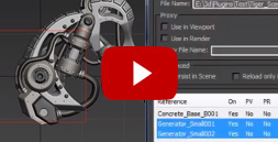SmartRefs - External reference plugin for 3ds Max